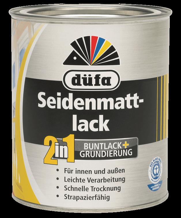 2 in 1 Seidenmattlack (Acryl Seidenmattlack)