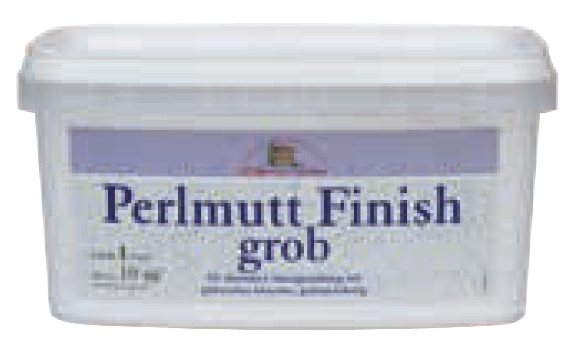 Perlmutt Finish grob