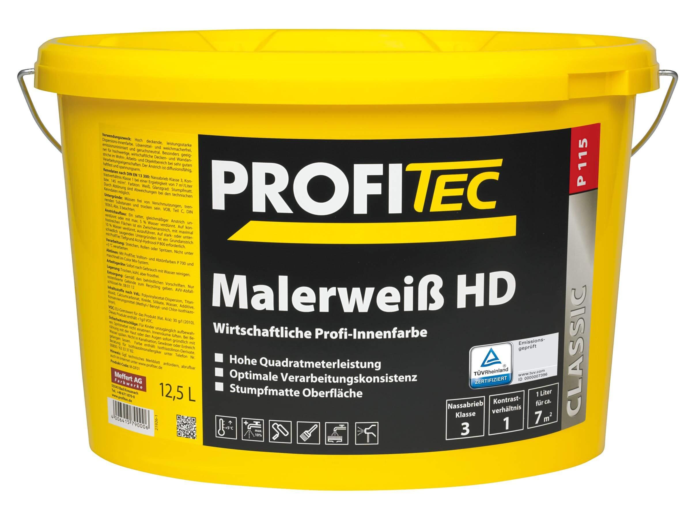 Malerweiß HD P 115