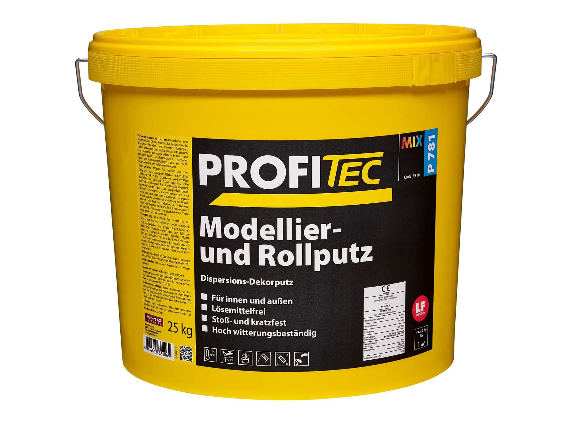 Modellier- und Rollputz P 781