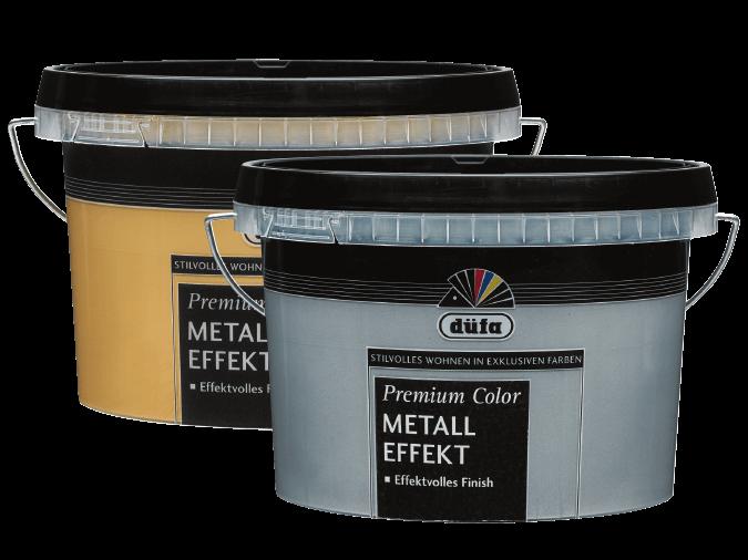 Premium Color METALL-EFFEKT Gold und Silber