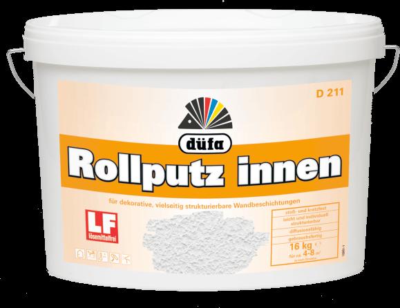 D 211 Rollputz innen