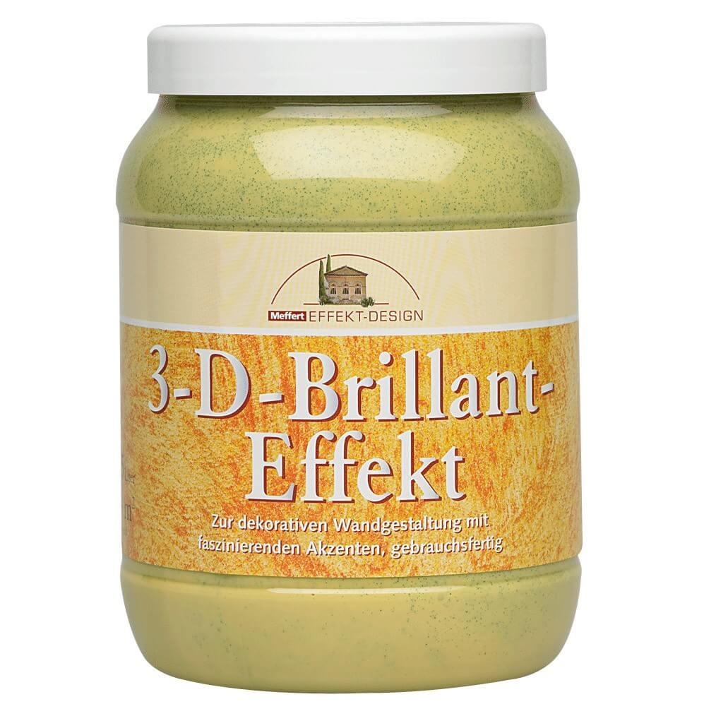 3-D-Brillant Effekt