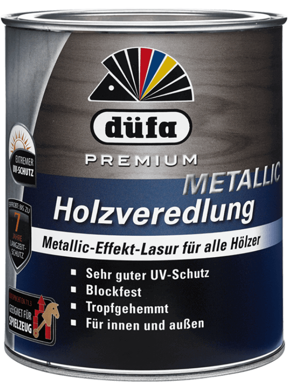 Holzveredlung Plus Metallic-Effekt