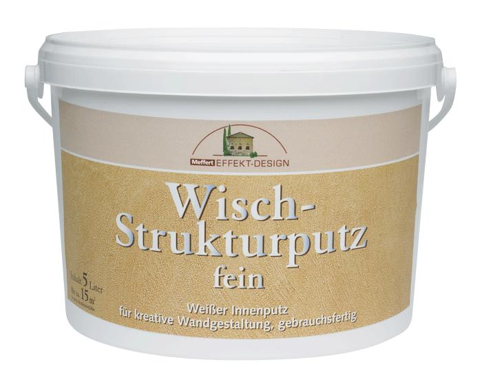 Wisch-Strukturputz